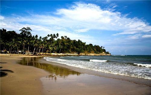 Corbyns Cove Beach in Port Blair